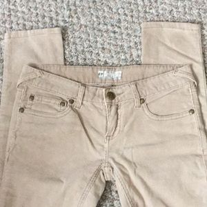 Free People cords sz 27